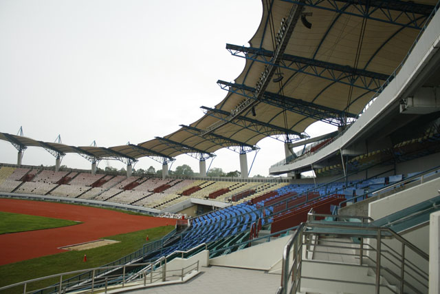 Sarawak Stadium Upgrades her audio system to AUDIOCENTER