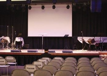 Malaysia Calvary City Church installed Audiocenter K-LA28 system
