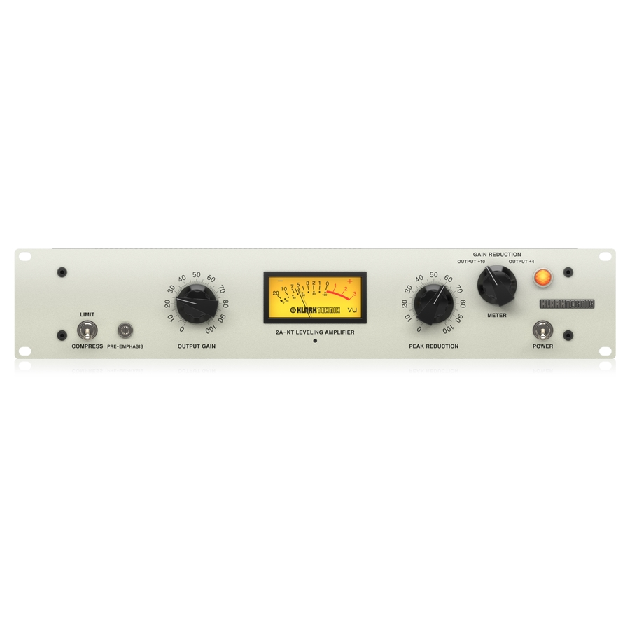 Classic Leveling Amplifier with Vacuum Tubes, Optical Attenuator and Midas Transformers