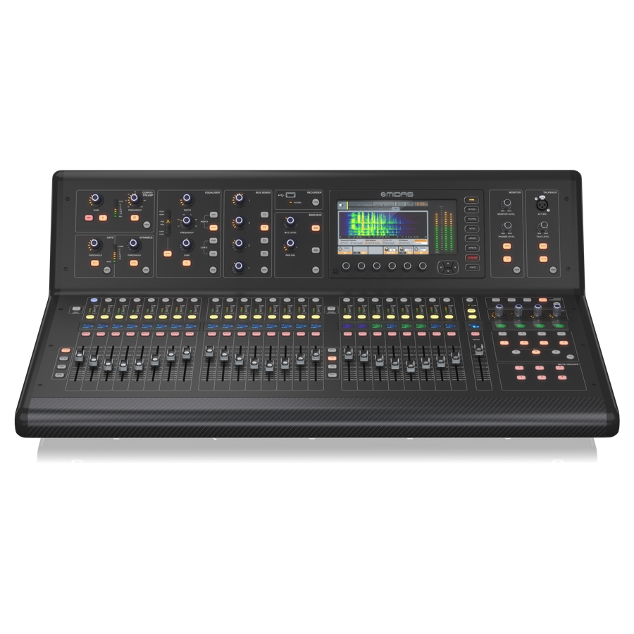 Digital Console for Live and Studio with 40 Input Channels