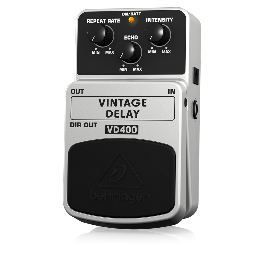 Vintage Analog Delay Effects Pedal