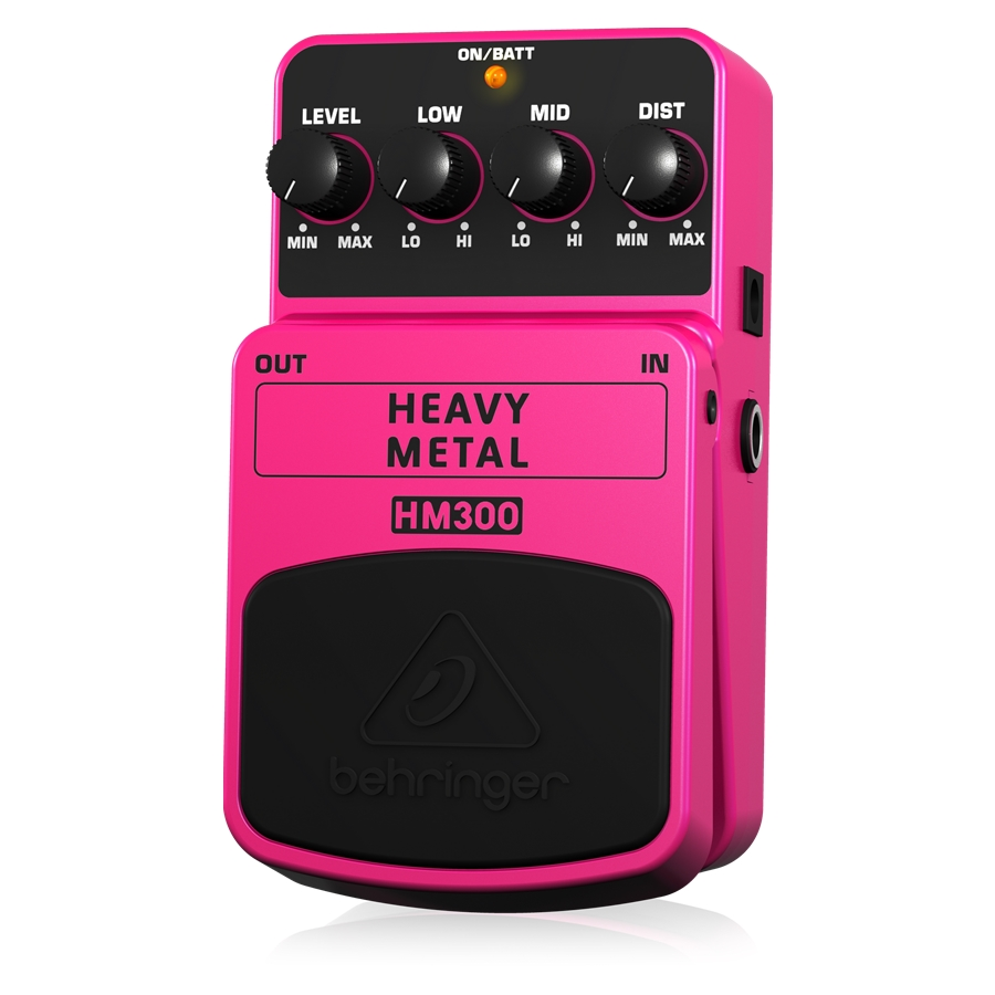 Heavy Metal Distortion Effects Pedal