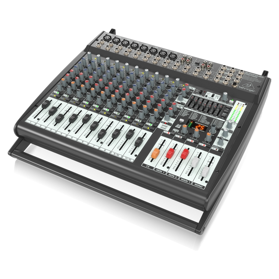 1600-Watt 16-Channel Powered Mixer with Multi-FX Processor and FBQ Feedback Detection System