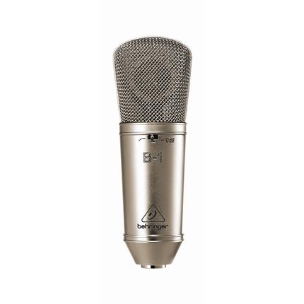 BEHRINGER | B-1 | B-1 Gold-Sputtered Large-Diaphragm Studio Condenser Microphone