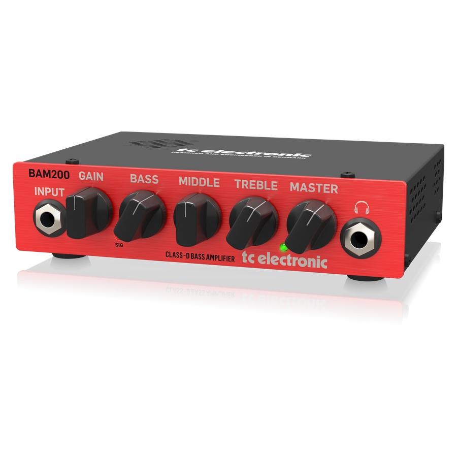 Ultra-Compact 200 Watt Bass Head with Class-D Amp Technology