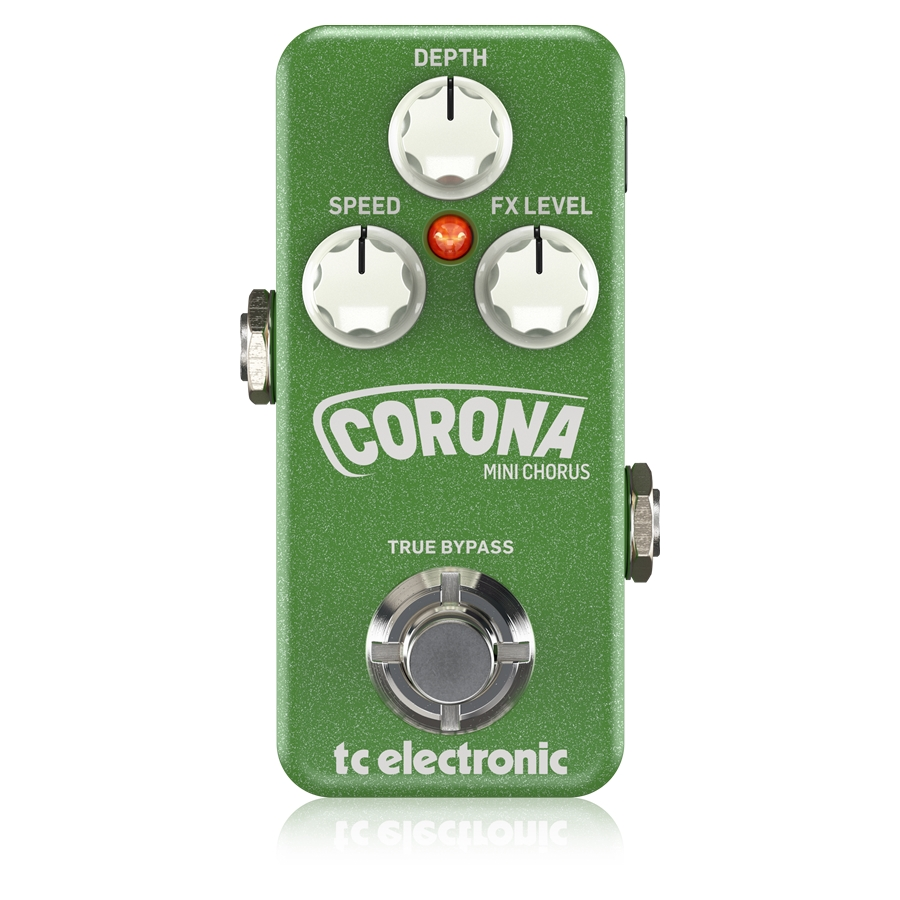 Ultra-Compact Chorus Pedal with Built-In TonePrint Technology