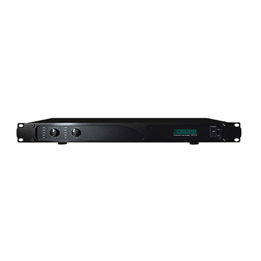 DA2250 125W-500W 2 Channels Class-D Digital Power Amplifier