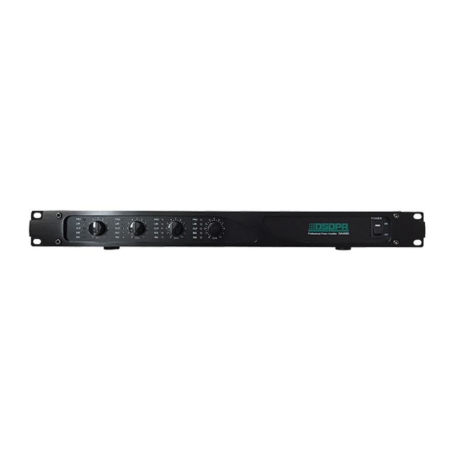 DA4060 4*60W 4 Channels Digital Amplifier