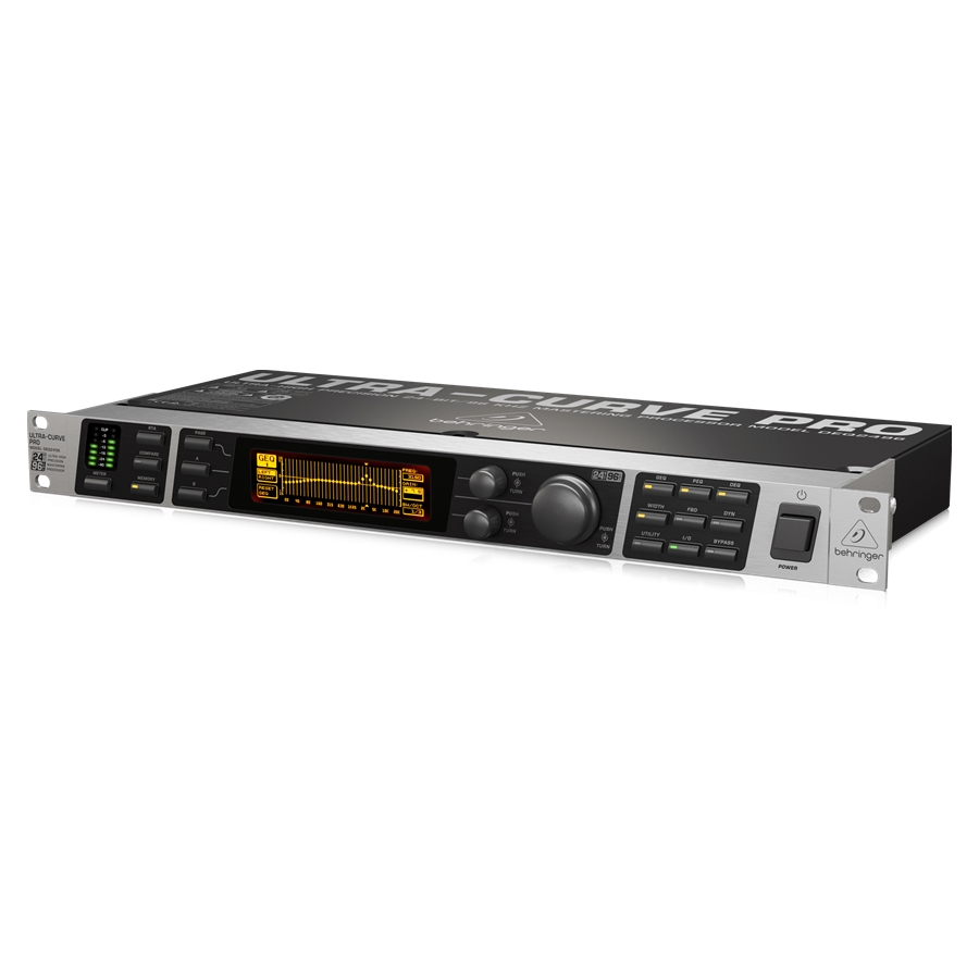 Ultra-High Precision 24-Bit/96 kHz Equalizer, Analyzer, Feedback Destroyer and Mastering Processor