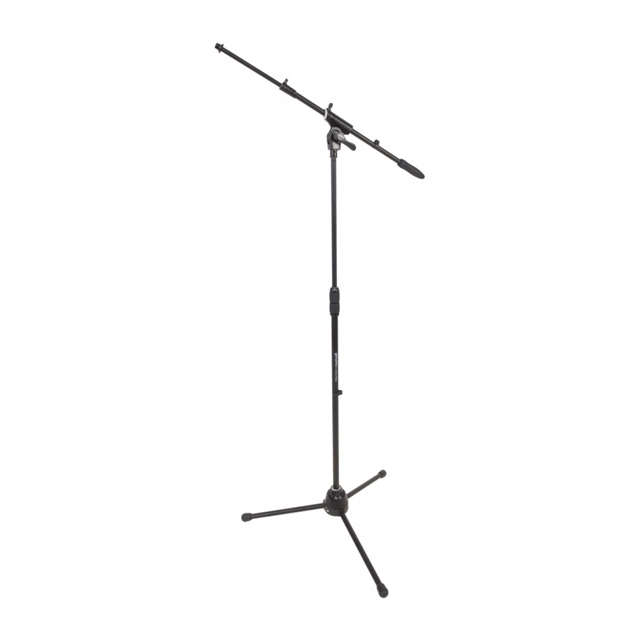 Professional telescopic boom microphone stand