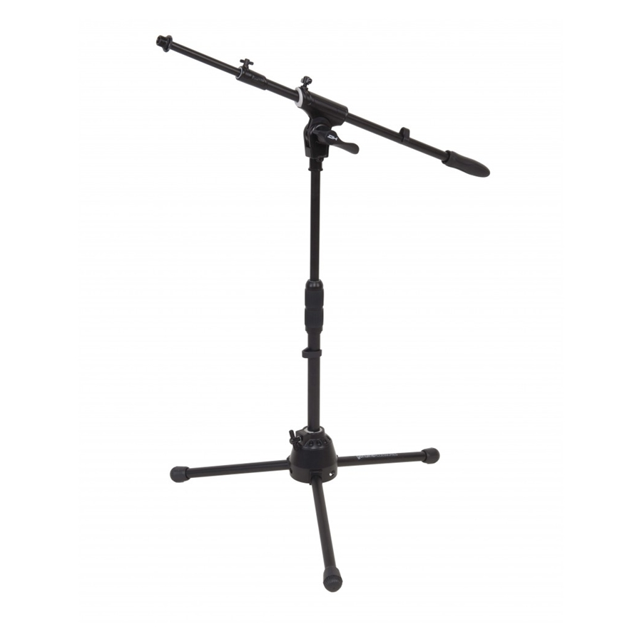 Professional low profile telescopic boom microphone stand,