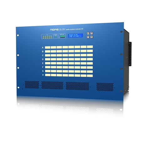 PRO SERIES DL351 Modular Stage Box with 8 Card Slots and up to 64 Inputs and 64 Outputs