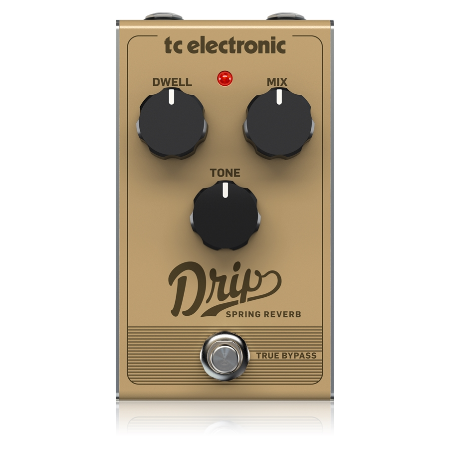 Retro Spring Reverb with Adjustable Dwell, Mix and Tone for Sparkling Reverb Sound