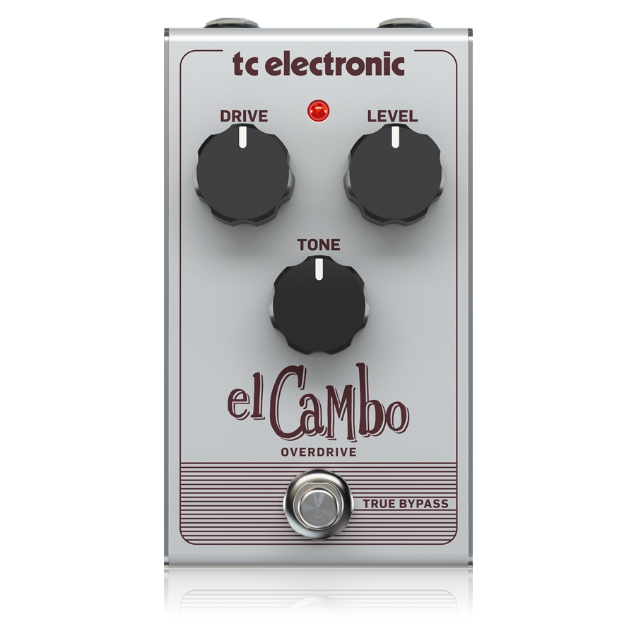 Classic Tube Overdrive Pedal with Intuitive 3-Knob Interface for Essential Blues Rock Tones
