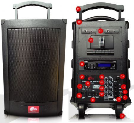 100W Truly Portable Sound System
