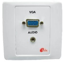 EMIX | EMVGA-PP | VGA Panel with Mini Stereo Jack