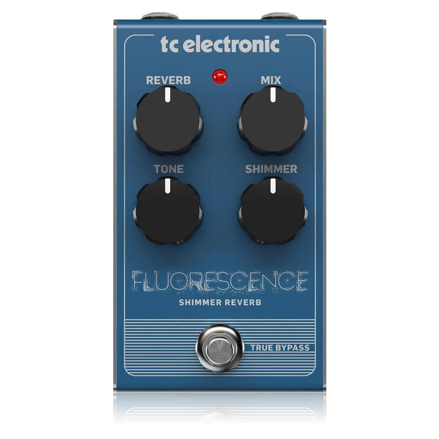 Shimmering Reverb Pedal with Intuitive 4-Knob Interface for Modern, Ethereal Reverb Sounds