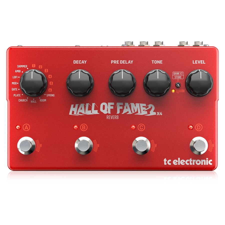 HALL OF FAME 2 X 4 REVERB