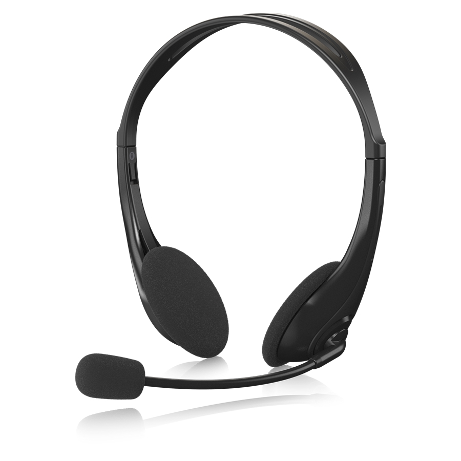 USB Stereo Headset with Swivel Microphone