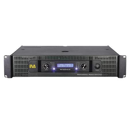 2 x 350W / 500W @ 8 / 4 Ohms Power Amplifier