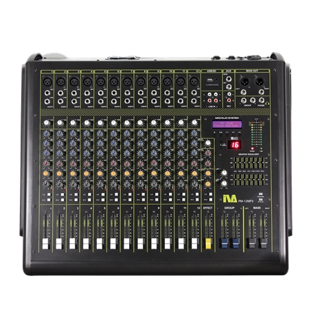 PM-12MP3 Powered Mixer | PM-12MP3