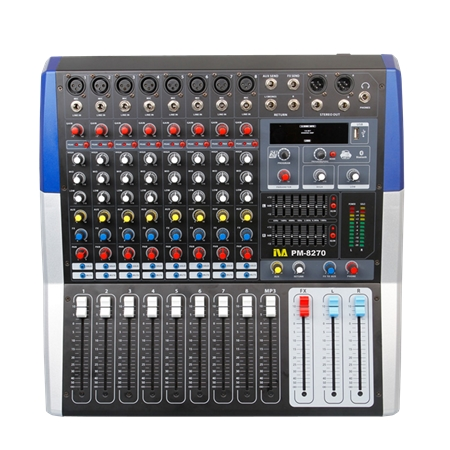 PM-8270 Powered Mixer | PM-8270