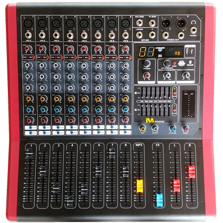 PM-8500 Powered Mixer | PM-8500