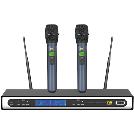 Dual Channel digital wireless microphone