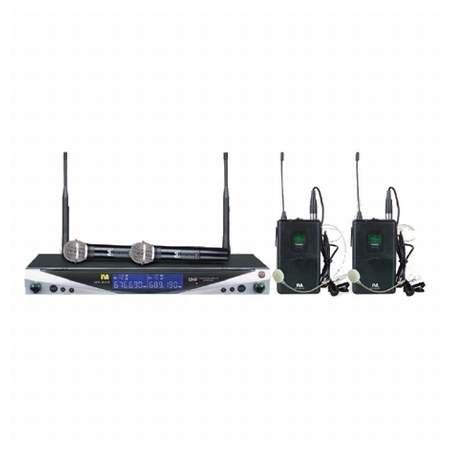 / Wireless Microphone System |  UX-34D UHF