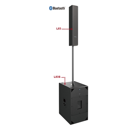 AUDIOCENTER | L83 + L83S Column System