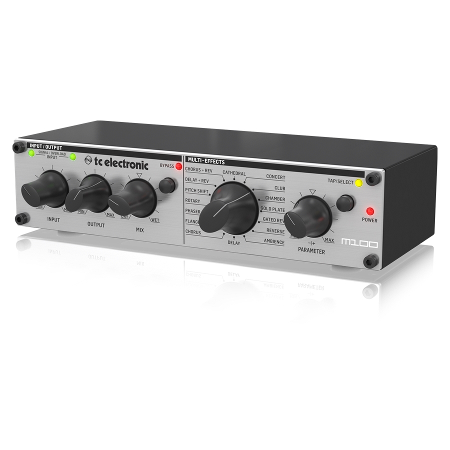 Stereo Multi-Effects Processor with Legendary TC Reverbs and Effects