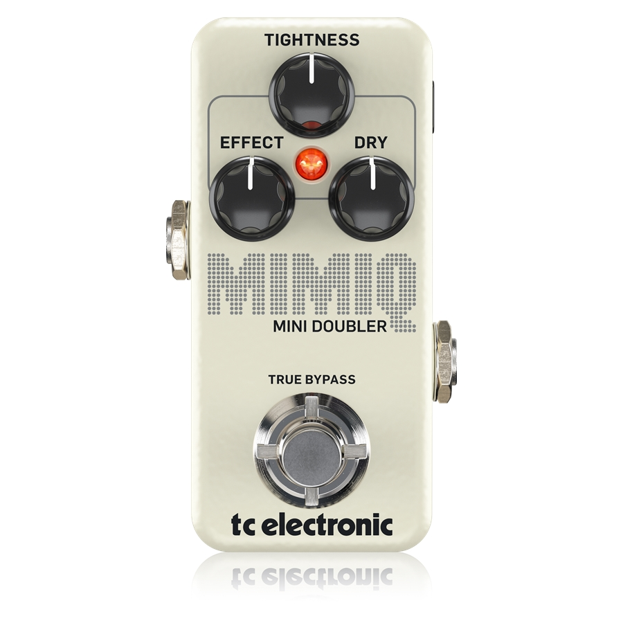 Authentic Doubling Pedal with Responsive Tightness Control for Hyper-Realistic Voice Doubling