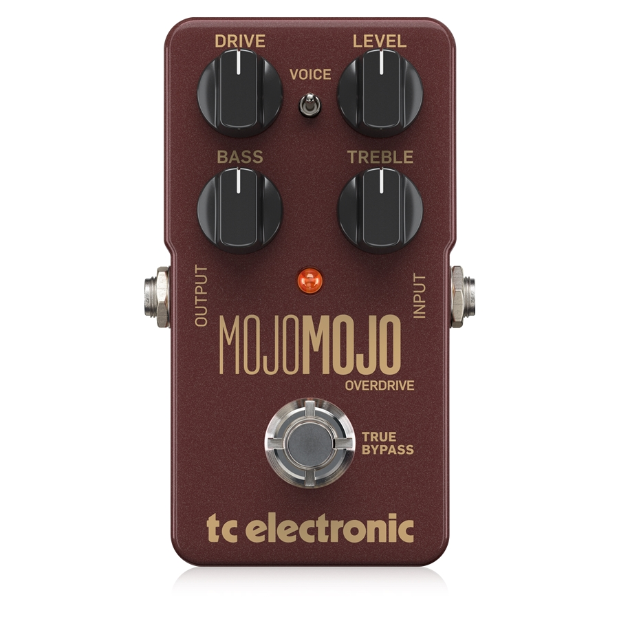 Exceptional Overdrive Pedal with Extra Headroom, Precise Controls and a Voicing Switch