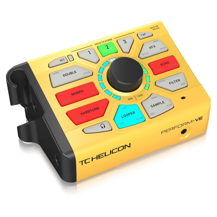 Revolutionary Vocal Manipulator with MIDI-Pitch-Controlled Sampling, Vocal Synth and One-Button Drum Looper