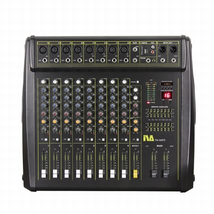 PM-8MP3 Powered Mixer