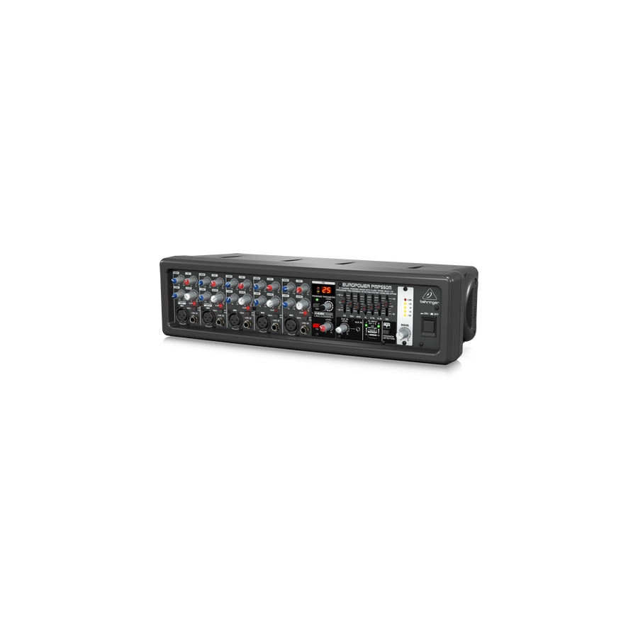 500-Watt 5-Channel Powered Mixer with Klark Teknik Multi-FX Processor, FBQ Feedback Detection System and Wireless Option