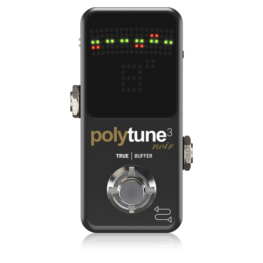 Tiny Polyphonic Tuner with Multiple Tuning Modes and Built-In BONAFIDE BUFFER