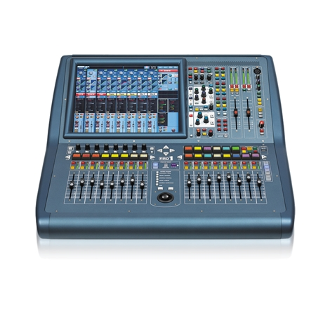Live Digital Console with 48 Input Channels, 24 MIDAS Microphone Pre-amplifiers, 27 Mix Buses,