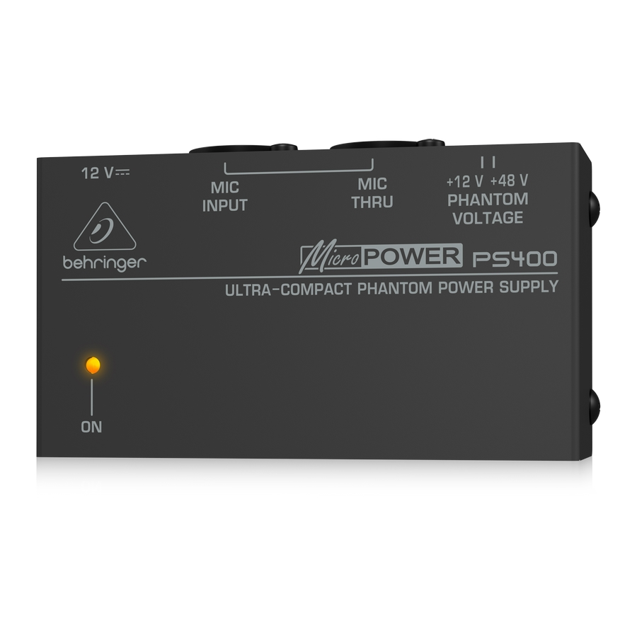 Ultra-Compact Phantom Power Supply