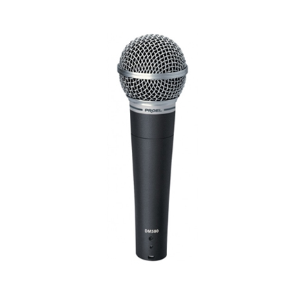 Dynamic microphone with on/off switch