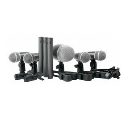 8pcs microphone drum kit