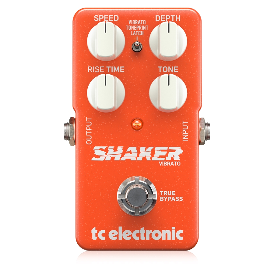 Exceptionally Musical Vibrato Pedal with 2 Vibrato Types, Easy Controls and Built-In TonePrint Technology