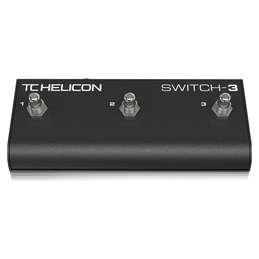 Sturdy 3-Switch Accessory Pedal for Expanded Remote Control
