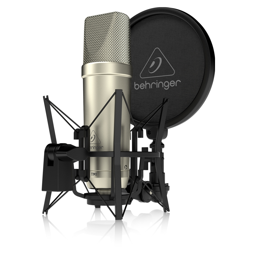 Complete Recording Package with Large Diaphragm Condenser Microphone