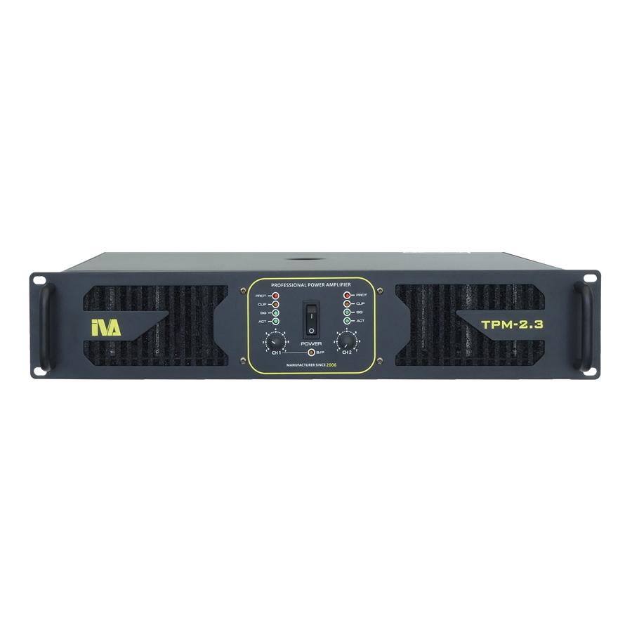 IVA TPM-2.3 2 X 300W 8 Ohms Power Amplifier (TPM2.3 / TPM 2.3)
