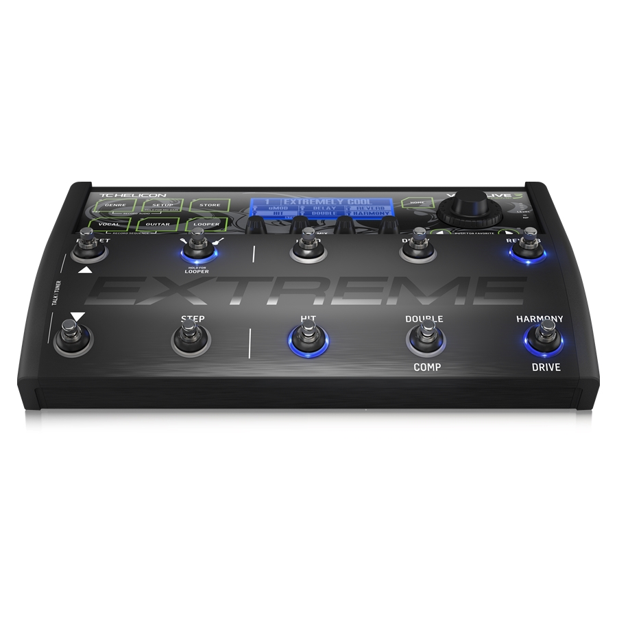 Unrivaled Vocal and Guitar Effects Performance Floor Pedal with Backing Tracks, Looping, Automation and Audio Recording