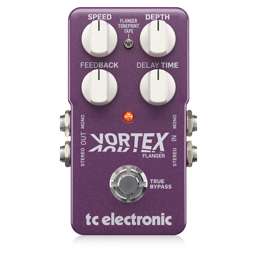 Outstanding TonePrint-Enabled Flanger Pedal with 2 Built-In Flanger Modes, Deep Control and Stereo I/O
