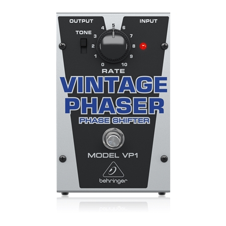 Authentic Vintage-Style Phase Shifter