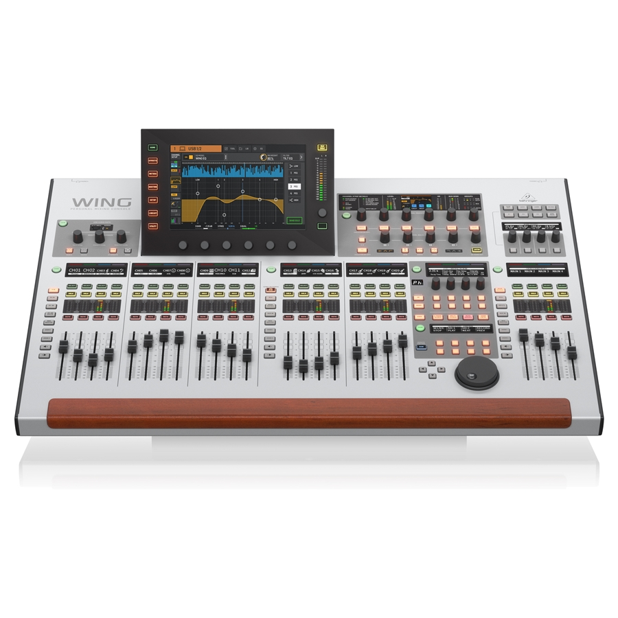 48-Channel, 28-Bus Full Stereo Digital Mixing Console with 24-Fader Control Surface and 10