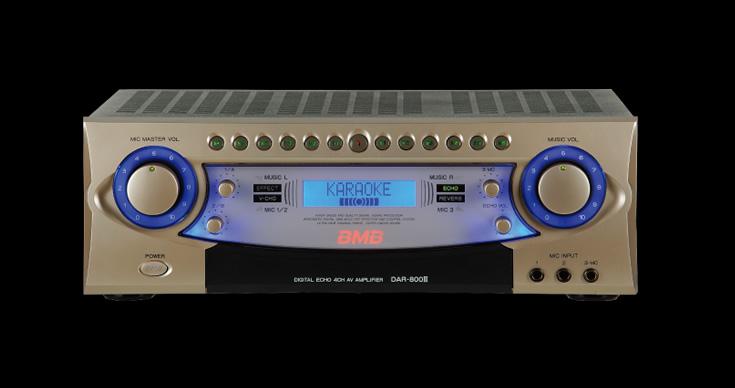 Digital Karaoke Amplifier